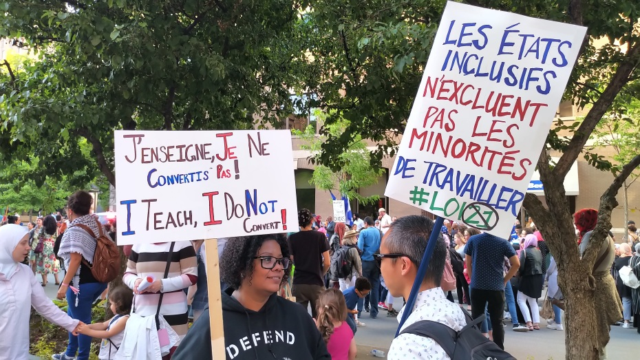 June2019_anti Bill21 protest_Montreal